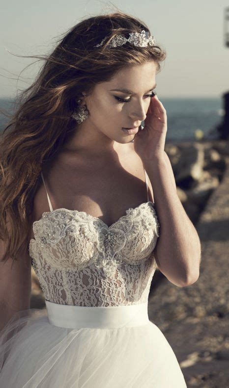 Corset Style Wedding Dresses by Spaghetti Corset Style Bodice Wedding Dress Modwedding