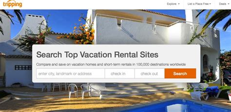 vacation home rentals site tripping raises 16m series - Best Vacation Home Rental Websites