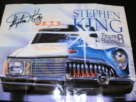 from a buick 8 a novel books free stephen king from a buick 8 signed poster other