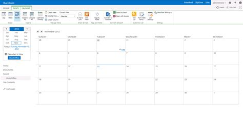 sharepoint calendar event widget new calendar template site