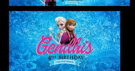 Gantungan Kunci Troll ataro designs stiker label ulang tahun ultah anak tema frozen