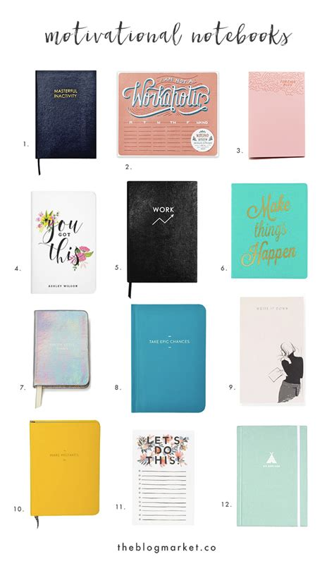 the best notebooks 12 best motivational notebooks journals the market