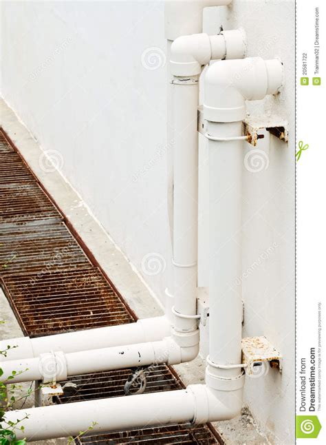 White Plumbing Pipe by White Water Pipe Stock Photo Image Of Architecture Light