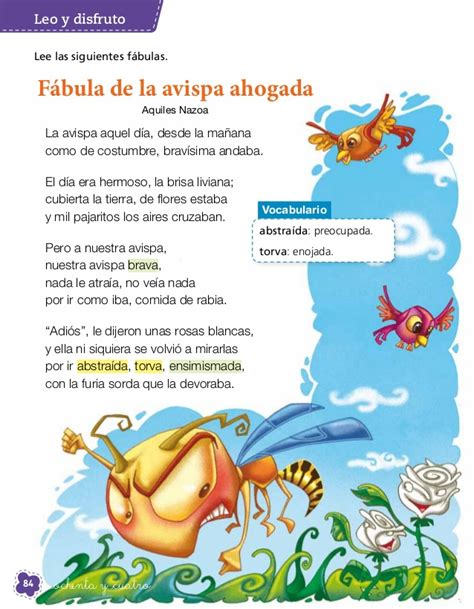 fabula de la avista lenguaje y comunicaci 243 n 2 186 b 225 sico texto del estudiante editorial sa