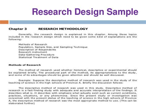 methodology sle dissertation sle thesis research design 28 images sle of thesis