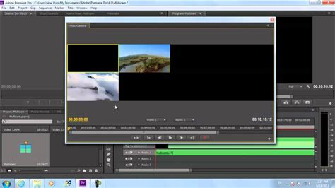 adobe premiere cs6 how to how to use the multicam editor in adobe premiere pro cs6