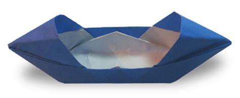 Origami Motor Boat - origami boat