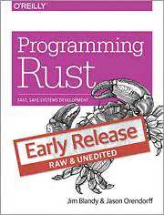 programming rust fast safe systems development books programming rust o reilly media
