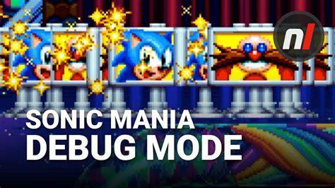 banished game debug mode sonic mania how to unlock debug mode stage select youtube
