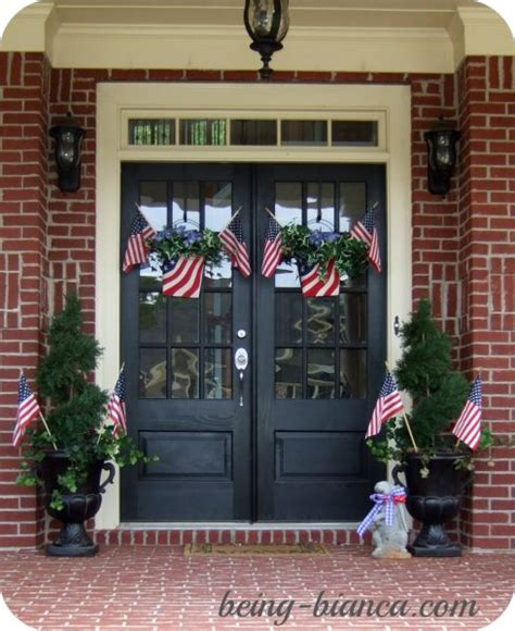 bianca home decor patriotic front porch plus full home decor tour at being