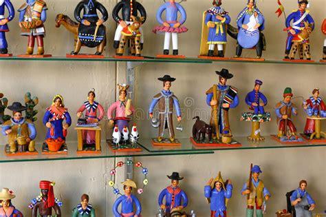 ceramic craft figurines editorial image image  retro