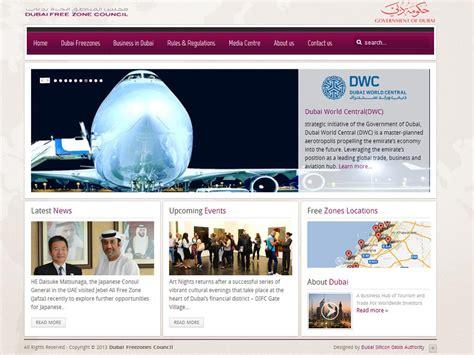 design free zone dubai best web design sle websites in dubai uae