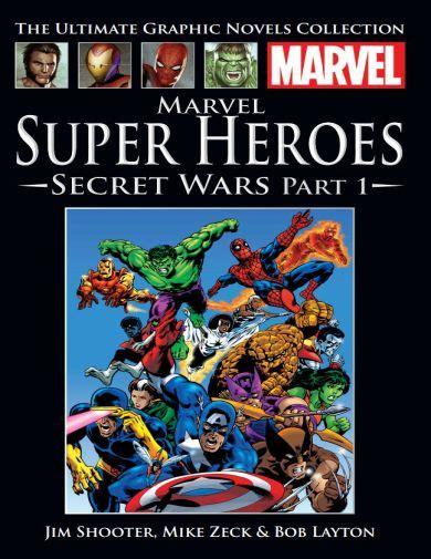 marvel super heroes secret wars a novel of super heroes secret wars part 1 marvel ultimate graphic novels collection 2016 hachette