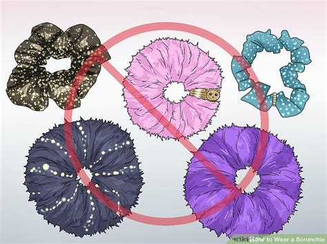 Wears A Scrunchie by How To Wear A Scrunchie 11 Steps With Pictures Wikihow