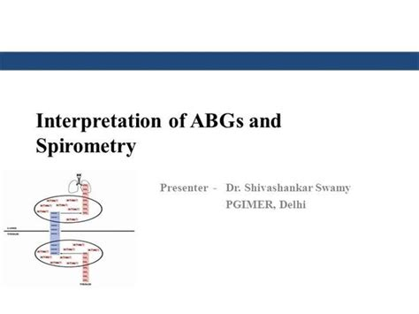 Understanding Abgs And Spirometry Authorstream Pft Interpretation Template