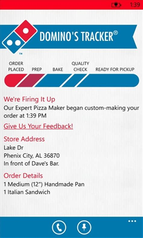 phone number to domino s dominos pizza in the us launch their pizza ordering app