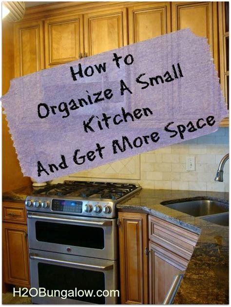 how to organize small kitchen how to organize a small kitchen and get more space