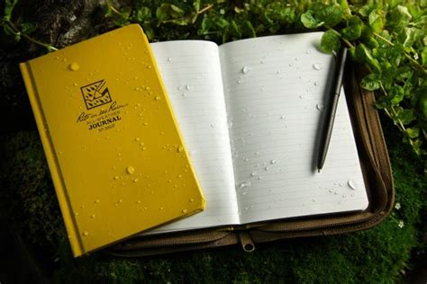 How To Make Paper Water Proof - write in the with this waterproof paper brit co