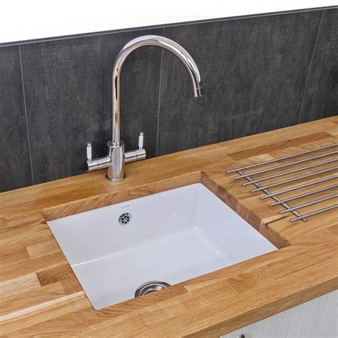 Ceramic Undermount Sink by Reginox Mataro 1 0 Bowl White Gloss Ceramic Undermount