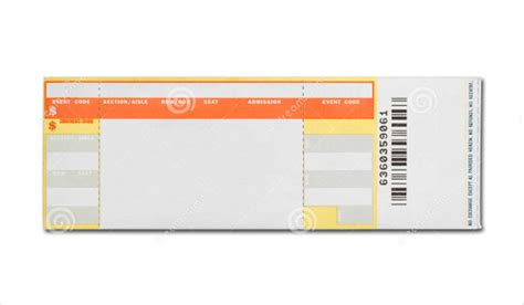 Gig Ticket Template concert tickets driverlayer search engine