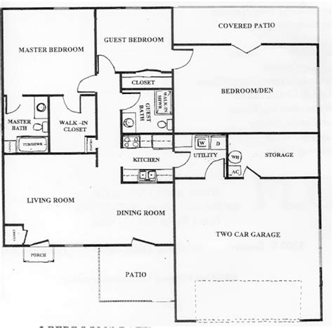 100 patio home plans floor plan house plans ranch