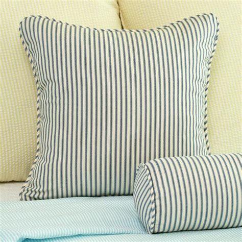 ticking stripe throw pillow cover 18x18 southern ticking co
