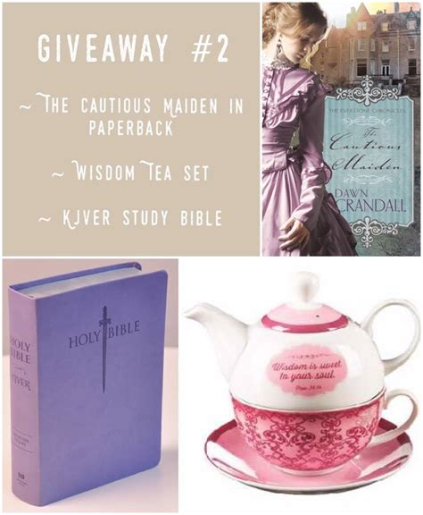 Goodreads Sweepstakes - bookreview giveaways the cautious maiden buzzing about books