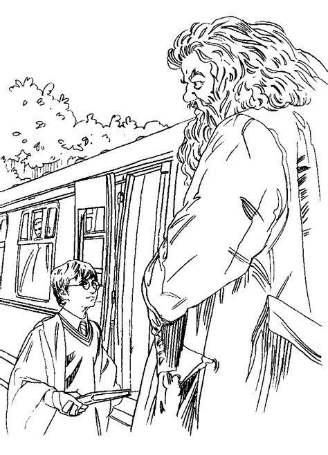 coloring page Harry Potter and the Philosophers Stone