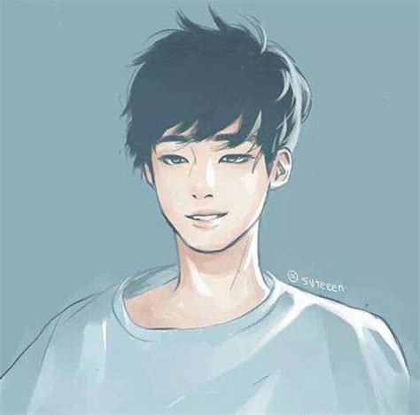 Kpop Drawing by Fanart Of Wonwoo Whoever Did This Is So Talented He