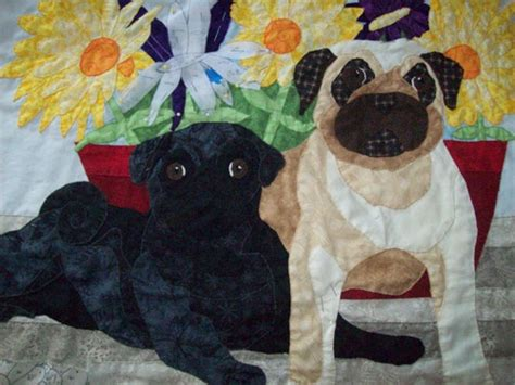 pug quilt 141 best images about pugs on a pug pug and