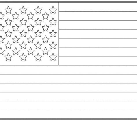 pages american flag united states of america flag coloring page