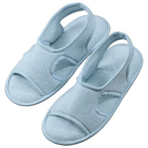 memory foam slipper boots terry memory foam slippers non slip slippers walter
