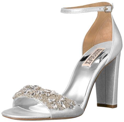 Sandal Murah Okada M Silver galleon badgley mischka s barby dress sandal silver 6 m us