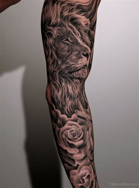 back of arm tattoo 12 best realistic leo tattoos images on leo