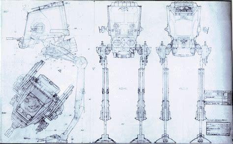 mask layout engineer star wars all terrain scout transport blueprint silodrome