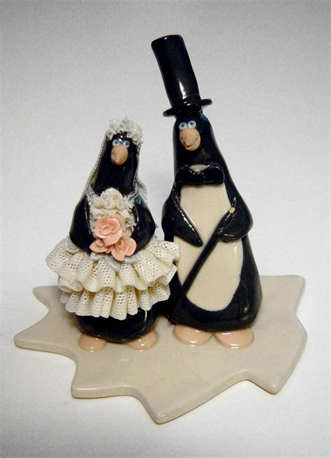 Comical Wedding Cake Toppers   Onweddingideas.com
