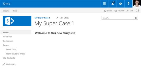 Create New Site From Custom Web Template In Office 365 Sharepoint Online Crawl Walk Run Office 365 Sharepoint Templates