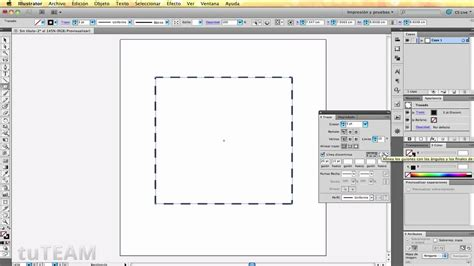 pincel cuadrado photoshop illustrator cs5 tip crear lineas punteadas tuteam