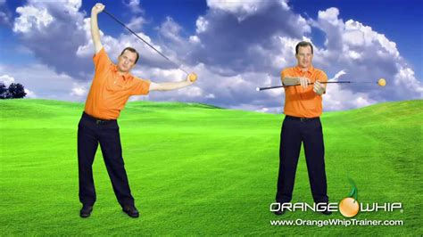 orange swing trainer orange whip golf swing trainer youtube