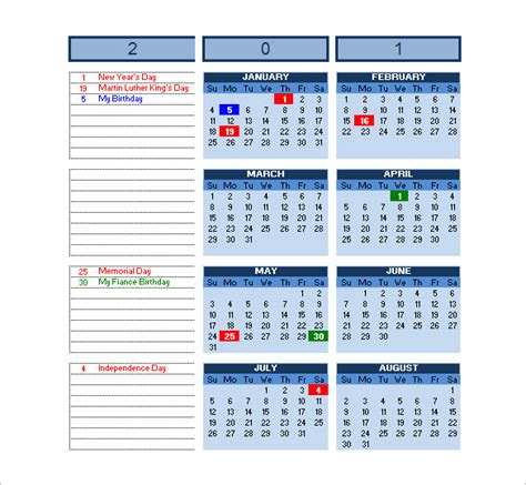 Excel Calendar Schedule Template 15 Free Word Excel Pdf Format Download Free Premium Free Church Calendar Templates