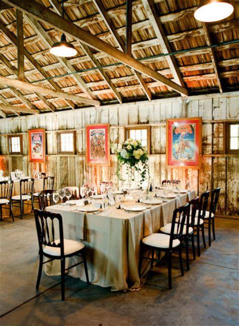 wedding venues in california barn wedding venues in california