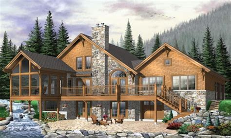 hillside house plans hillside house plans with walkout basement modern hillside house plans waterfront home plans