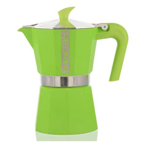 Moka Pot Pedrini 3 Cup Manual Espresso Coffee Maker Murah 7 green coffee makers to make you green with envy coffeesphere