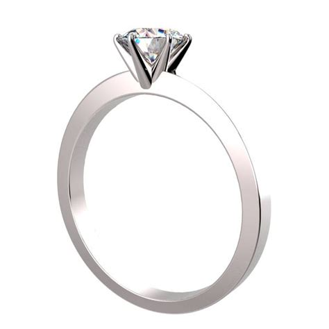 Sabita Set By House Of Kanio 1 6 prongs solitaire ring in platinum 8999