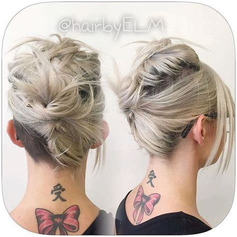 easy updos for medium hair with directions 60 updos for short hair your creative short hair inspiration