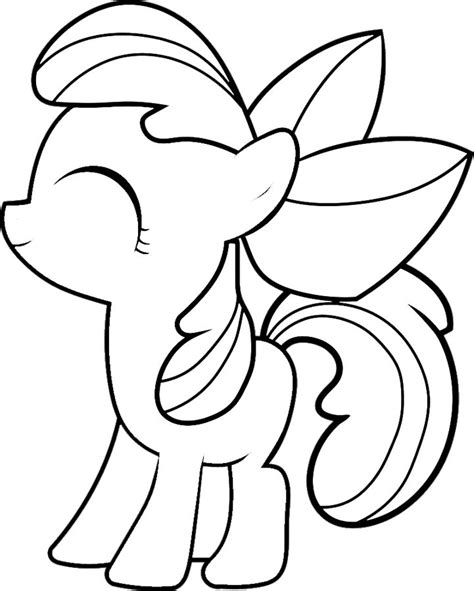 free coloring pages of equestria apple
