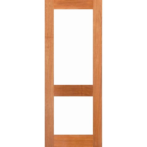 Wood Craft Doors woodcraft doors 2040 x 820 x 40mm two lite clear safety