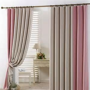 Pink And Beige Curtains Decor Best Insulated And Thermal Beige Pink Blackout Curtains