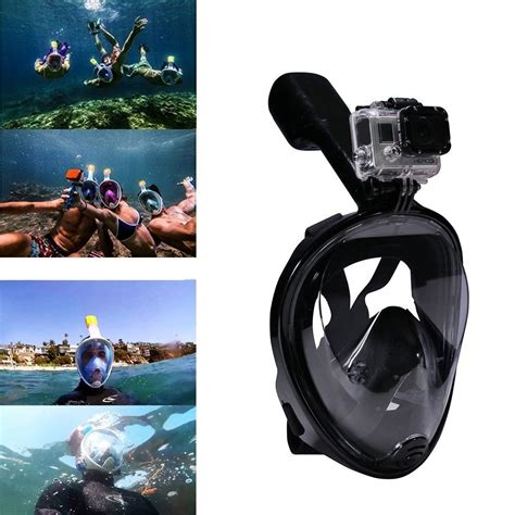 Kacamata Selam Scuba Diving Anti Fog Swimming Anti Fog Mask Surface Diving Snorkel Scuba For Gopro S M L Xl