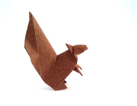 Easy Origami Squirrel - squirrel makoto yamaguchi gilad s origami page